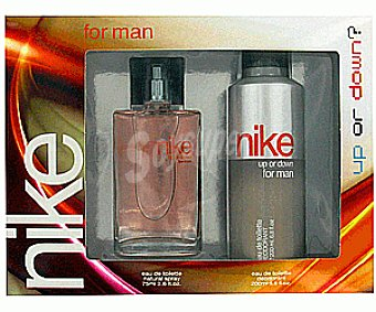 Nike Estuche Colonia Hombre Up Or Down Vaporizador + Desodorante 1u