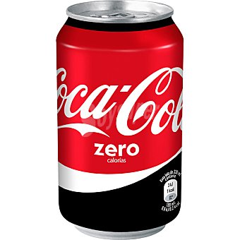 Coca-Cola Zero Refresco de cola Lata 33 cl