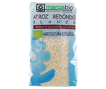MARGABIO Arroz redondo blanco ecológico 1 Kilogramo