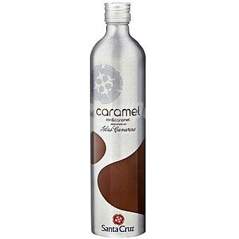 Santa Cruz licor ron caramelo de las Islas Canarias botella  70 cl
