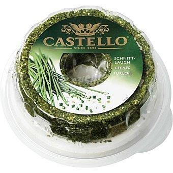 Castello Queso danes con cebollino peso aproximado pieza 1 kg