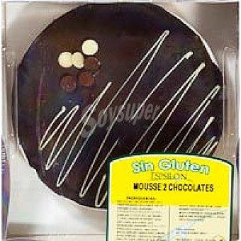 Mousse 2 chocolates 375 g