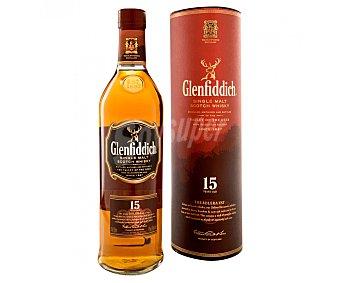 Glenfiddich Whisky de Malta escocés 15 años 70 cl