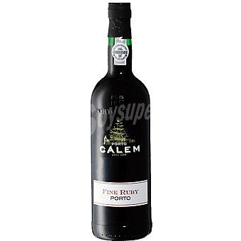 Calem Vino oporto Fine Ruby Botella 75 cl