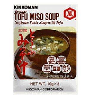 jaferia Sopa instantánea tofy y miso 30 g