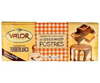 Valor Chocolate con leche al caramelo 170 gramos