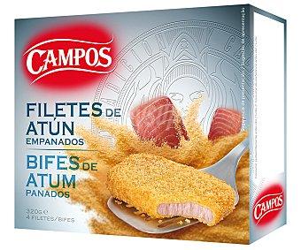 Campos Filetes de Atún Empanados 400 Gramos