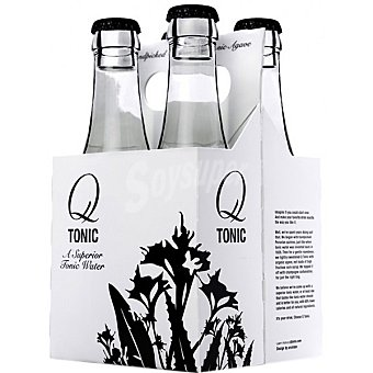 Q-tonic Tónica Pack 4 botellas 18,7 cl