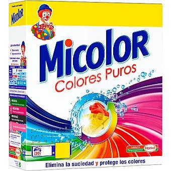 Micolor Detergente en polvo Maleta 30 cacitos