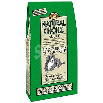 Nutro Natural choice maxi adult pienso premium para perros adultos de raza grande con cordero y arroz Bolsa 12 kg