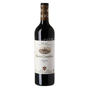 Sierra cantabria Vino tinto crianza D.O. Rioja Botella 75 cl