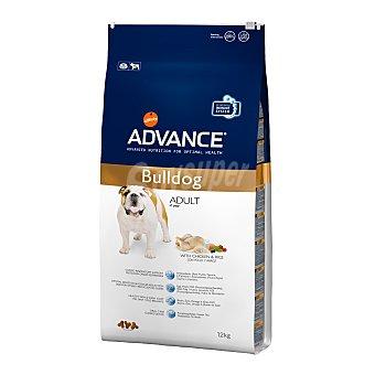 Bulldog Pienso para perros adultos Bulldog Inglés Advanced pollo y arroz 12 kg 12 kg
