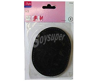 STYLE Codera, rodillera color negro 1 Unidad