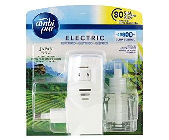 AmbiPur Ambientador eléctrico más recambio con esencia tatami japonés 1 ud