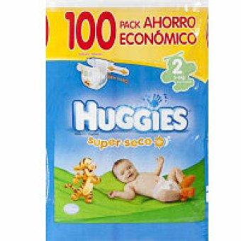 Huggies Pañal Recién Nacido Paquete 100 unid