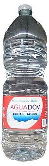 Aguadoy Agua mineral natural (mineralizacion debil) Botella 2 l