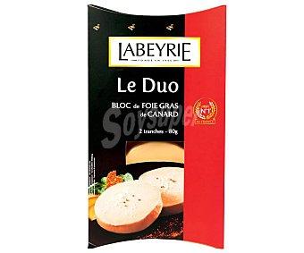 Labeyrie Foie gras de pato Pack de 2 uds