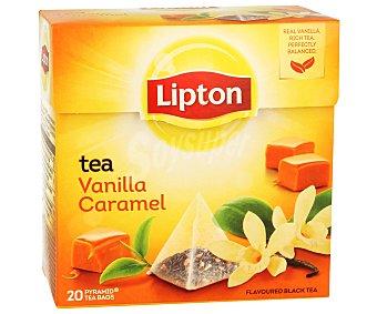 Lipton Té de vainilla-caramelo Caja 20 sobres