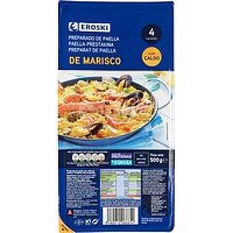 Eroski Preparado para paella de marisco Bandeja 500 g