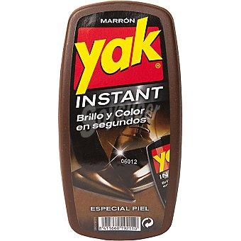 Yak Esponja autobrillante para calzado marrón