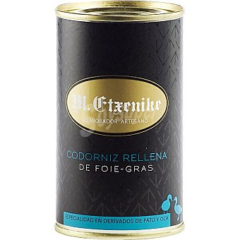 Etxenike Codorniz rellena de foie lata 200 g lata 200 g