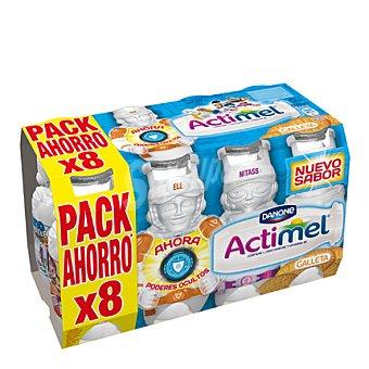 Danone - Actimel Yogur líquido Actikids galleta Danone pack de 8x100 g