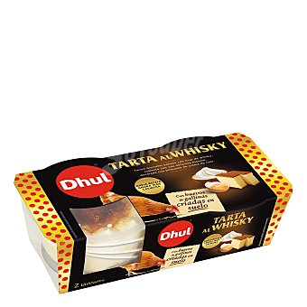 Dhul Tarta al whisky Pack 2 unidades 80 g