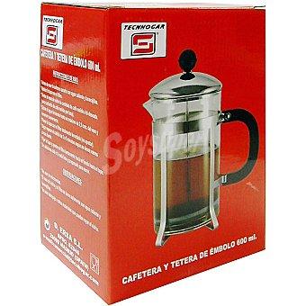 TECNHOGAR Cafetera de émbolo 600 ml