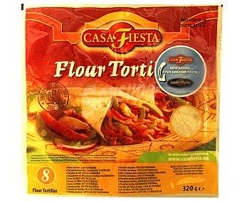 Casa Fiesta Tortillas de trigo Bolsa 320 g