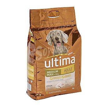 Ultima Affinity Comida para Perros Ultima Adult Pollo y Arroz 3 Kg