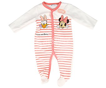 Disney Pijama pelele de bebé Minnie and friends, talla 86
