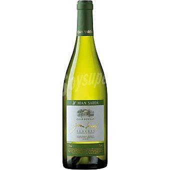 Joan Sarda Vino blanco chardonnay D.O. Penedés Botella 75 cl