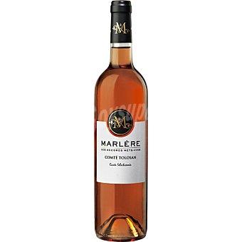 MARLERE Vino rosado de Francia botella 75 cl