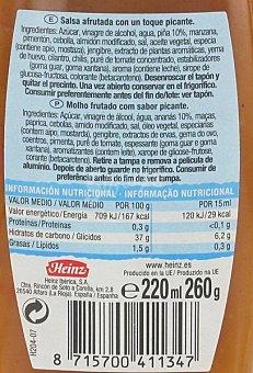 Heinz Salsa Exótica 220 mililitros