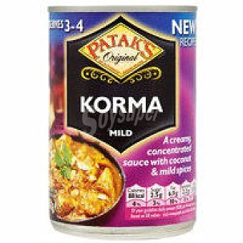 Patak's Salsa curry korma Tarro 283 g