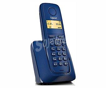 GIGASET A120 AZUL Teléfono inalámbrico gigaset A120 Azul, identificador de llamadas, agenda para 50 números, lista de las últimas llamadas perdidas con hora y fecha,