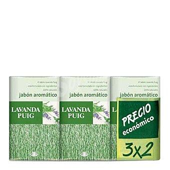 Puig Jabón de manos aromático en pastilla Lavanda 375 g