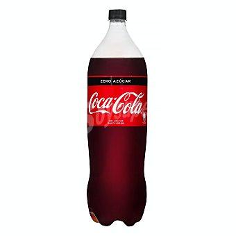 Coca-Cola Zero Refresco de cola zero azúcar Botella de 2 l