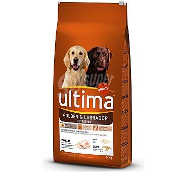 Ultima Affinity Comida para perros Adult raza Golden Retriever y Labrador Bolsa 14 kg