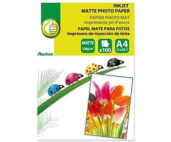 Productos Económicos Alcampo Papel foto Matte A4 128 Gramos 128 Gramos