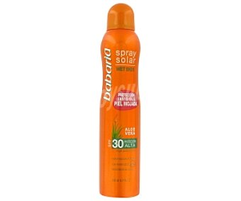 Babaria Spray Solar FP30 Babaria Piel Mojada 200 ml