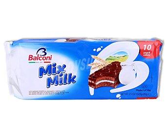 Balconi Pastel de chocolate relleno de leche 350 gramos