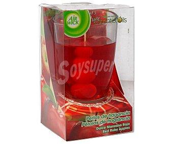 Air Wick Ambientador de vela perlas de fragancia dulce manzana 1 unidad