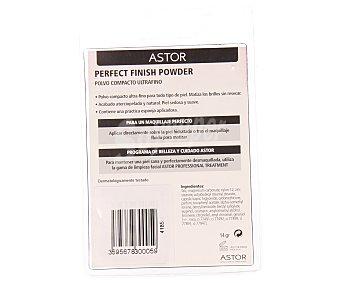 Astor Polvos microfinos de acabado maquillaje natural, mate con borla aplicadora - perfect finish powder nº005 1 ud