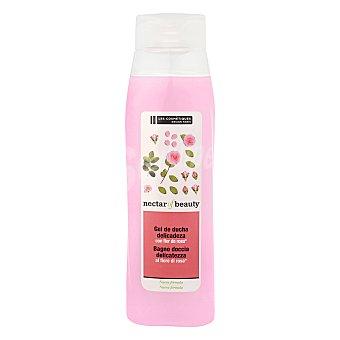 Les Cosmétiques Crema de ducha delicadeza con flor de rosa - Nectar of Beauty 750 ml