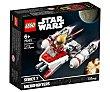 Juego de construcciones Microfighter: ala-y de la Resistencia con 86 piezas Star Wars 75263  LEGO