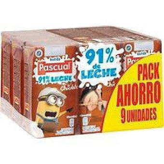 Pascual Batido de chocolate Pack 9x200 ml