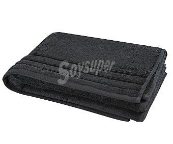 Actuel Toalla 100% algodón color gris antracita para ducha, densidad de 480 gramos/metro² 1 unidad