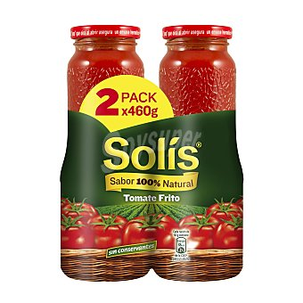 Solís tomate frito Pack 2 x 460 g