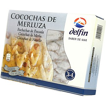 Delfín Cocochas de merluza Estuche 500 g neto escurrido